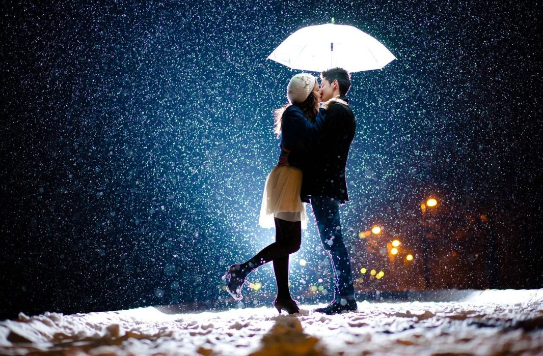Image result for couple in snow