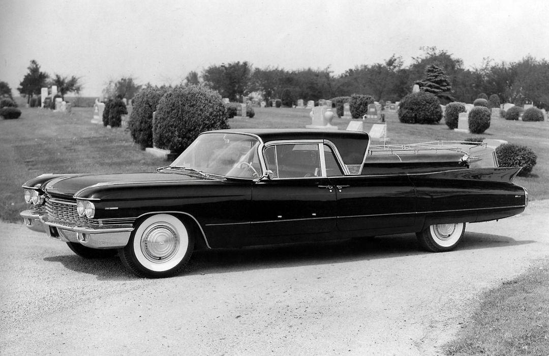 1960 Superior Cadillac Royale Coupe de Fleur (60-68-6890) funeral luxury classic wallpaper