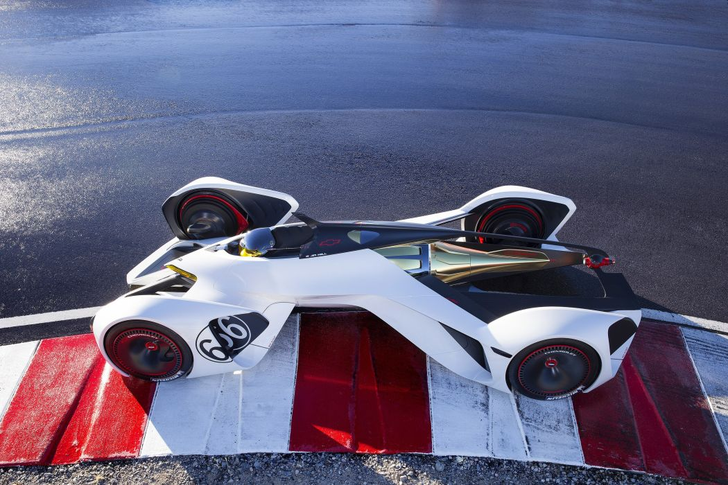 2014 Chevrolet Chaparral 2-X Vision Gran Turismo Concept supercar wallpaper