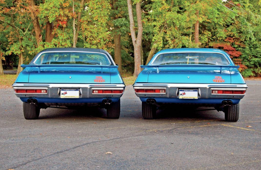 1971 Pontiac GTO Judges muscle car usa wallpaper