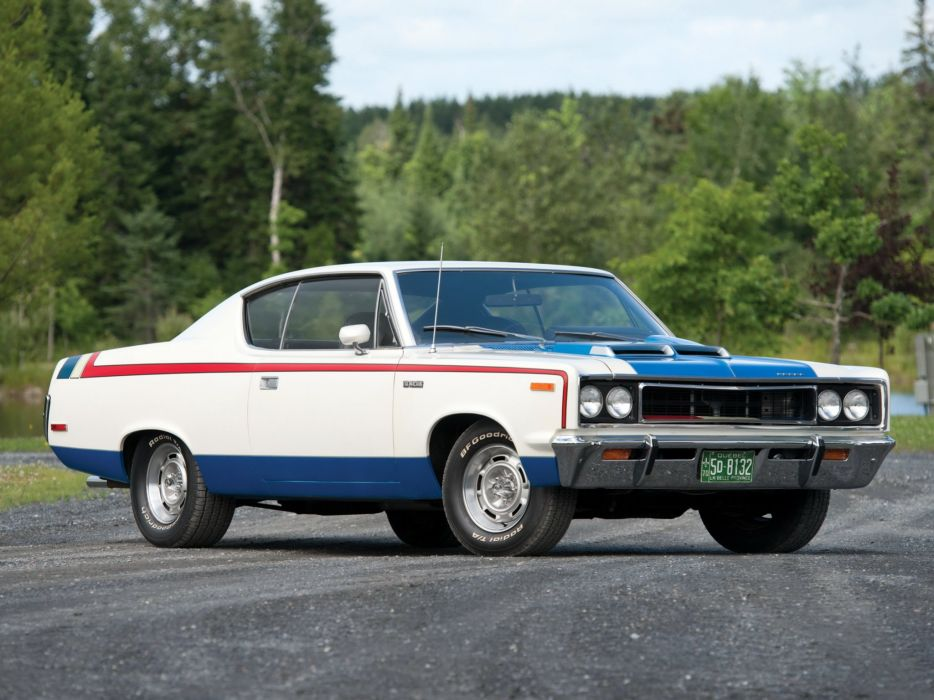 1970 AMC Rebel Machine muscle classic wallpaper