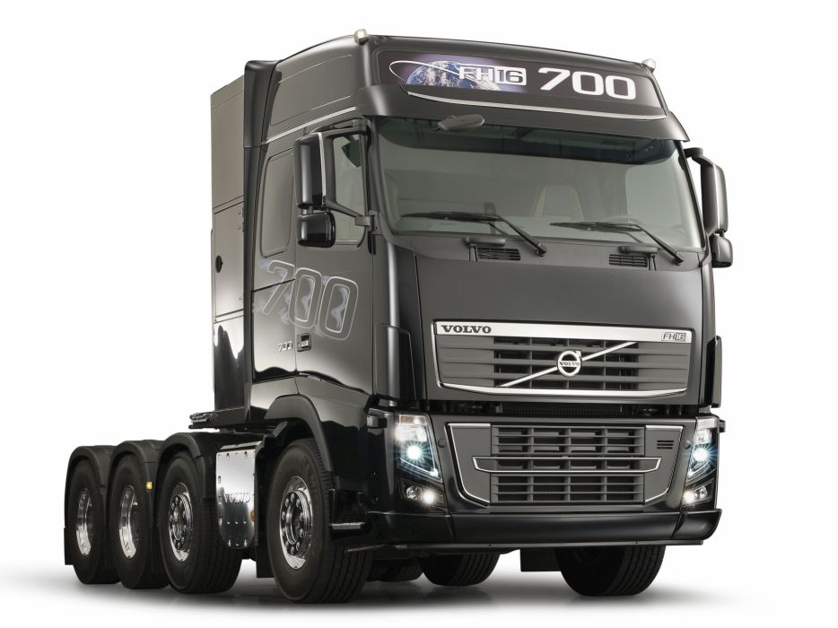 2012 Volvo FH16 700 8x4 semi tractor wallpaper
