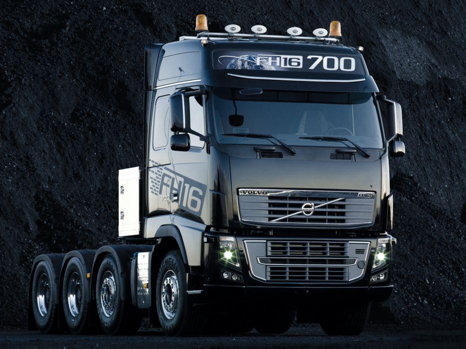 2012 Volvo FH16 700 8x4 semi tractor wallpaper