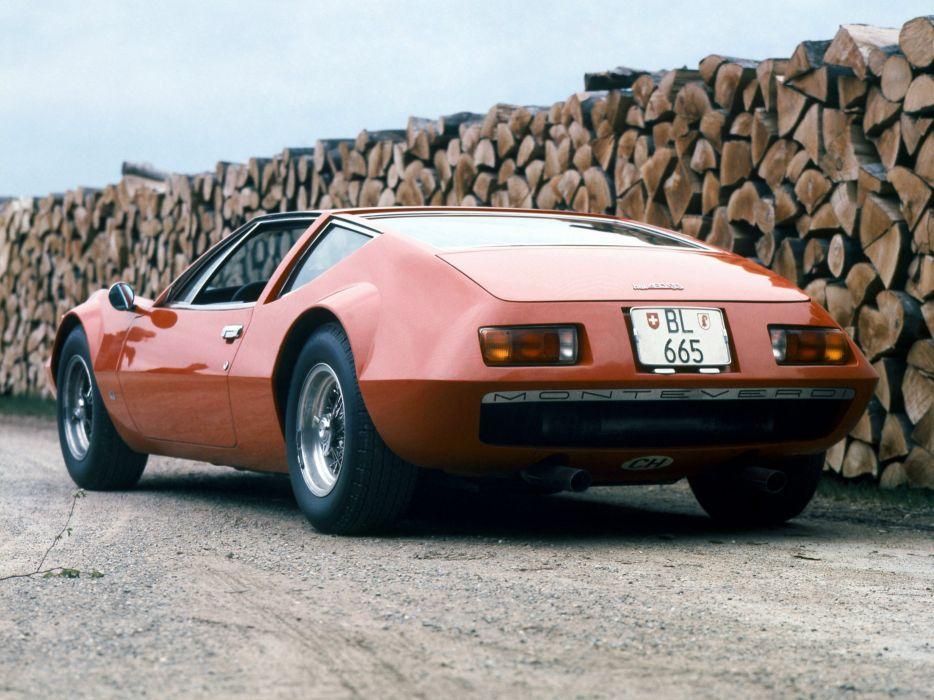 1970 Monteverdi Hai 450 S-S supercar classic wallpaper