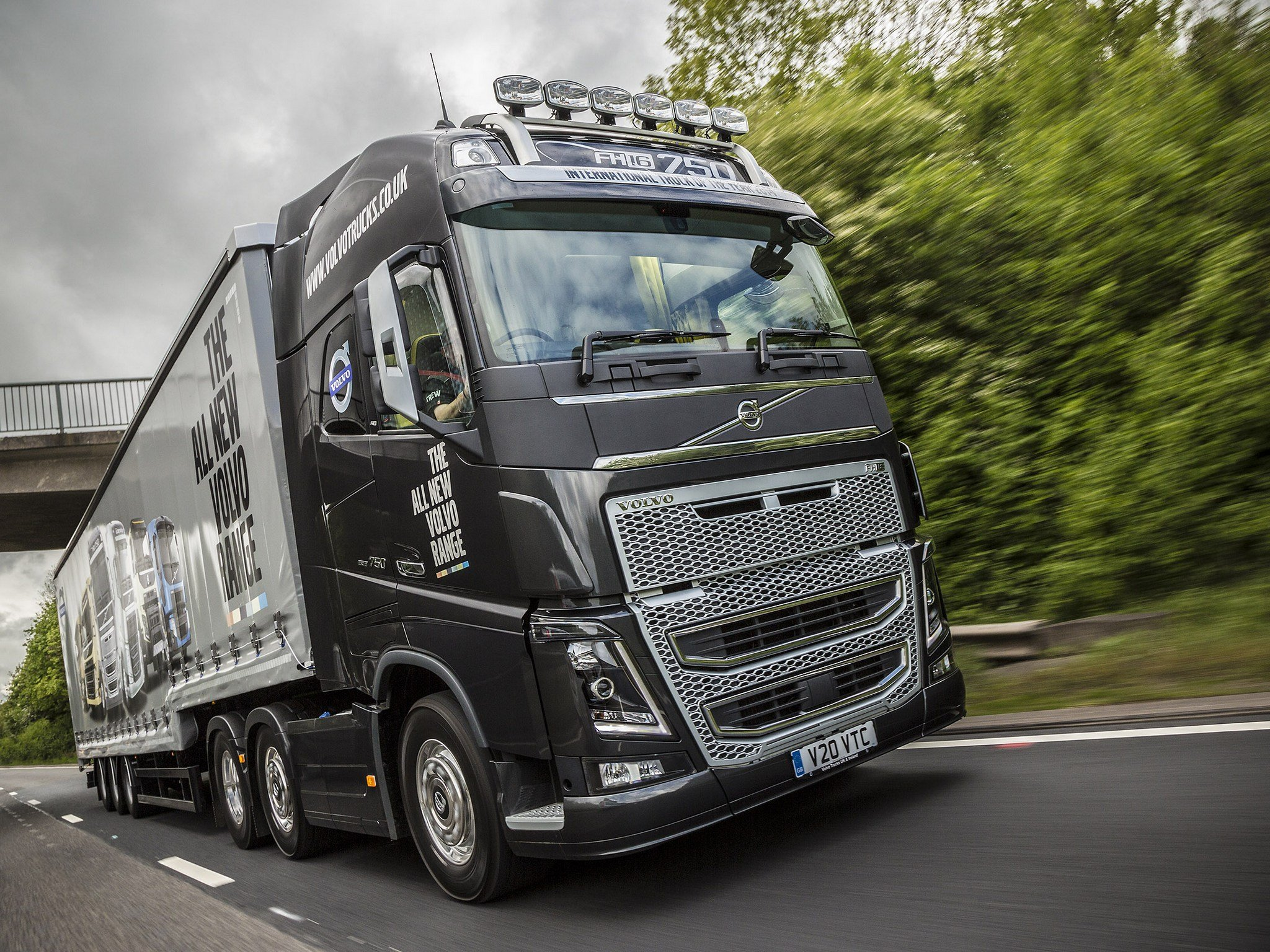 volvo fh16 750 semi truck 2017   2018 best cars reviews