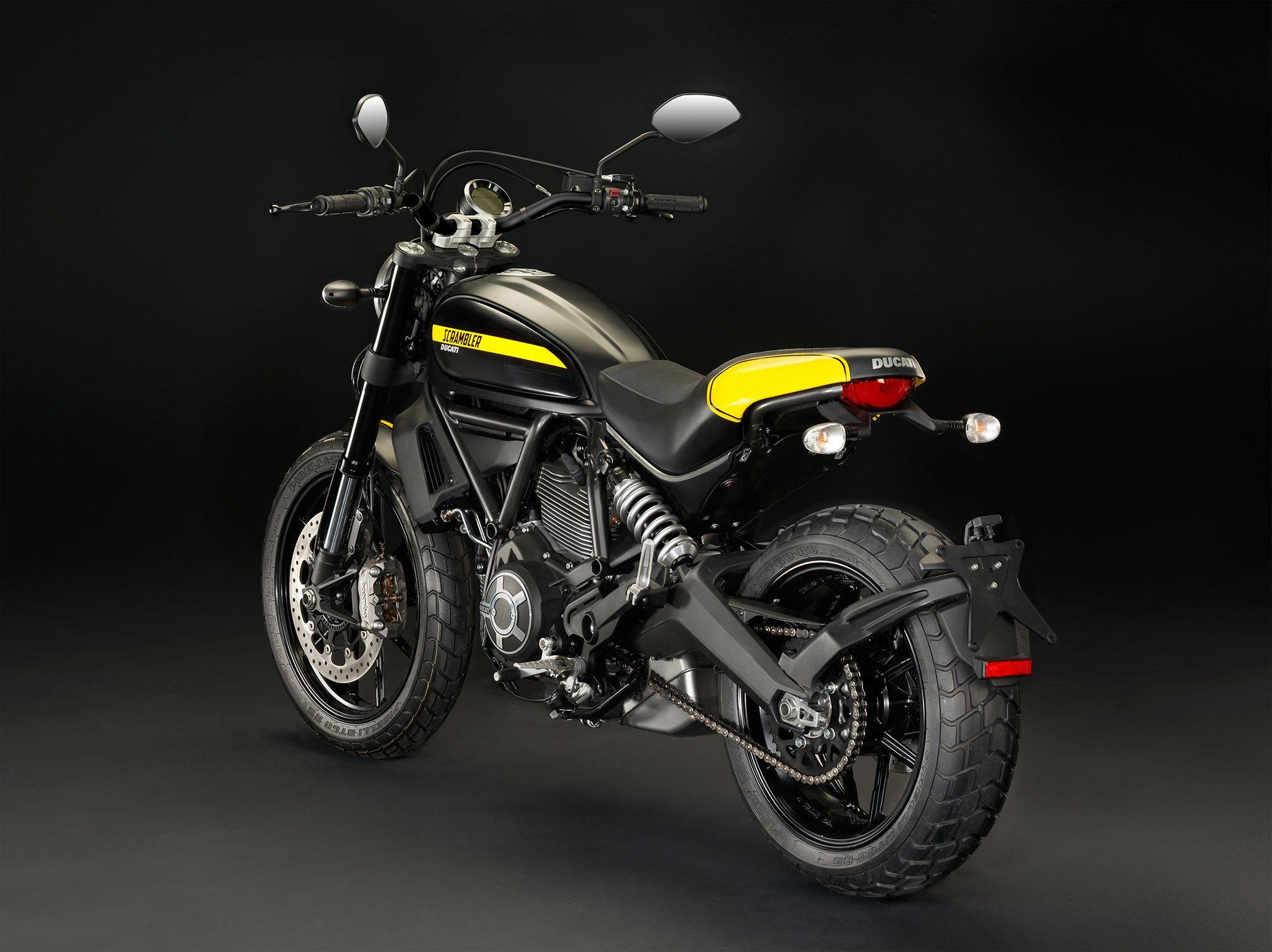2015 Ducati Scrambler Full Throttle Dirtbike Wallpaper