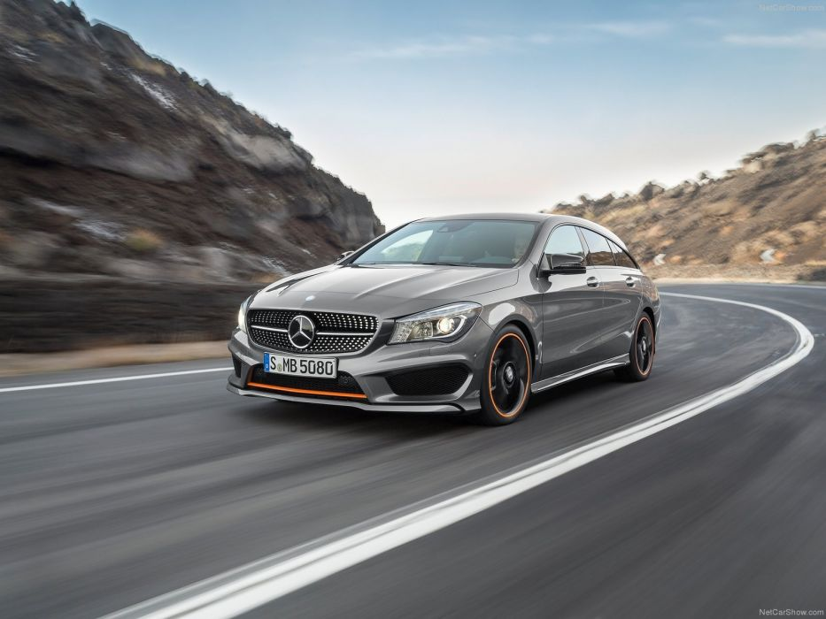2015 Mercedes CLA Shooting Brake wagon cars germany wallpaper