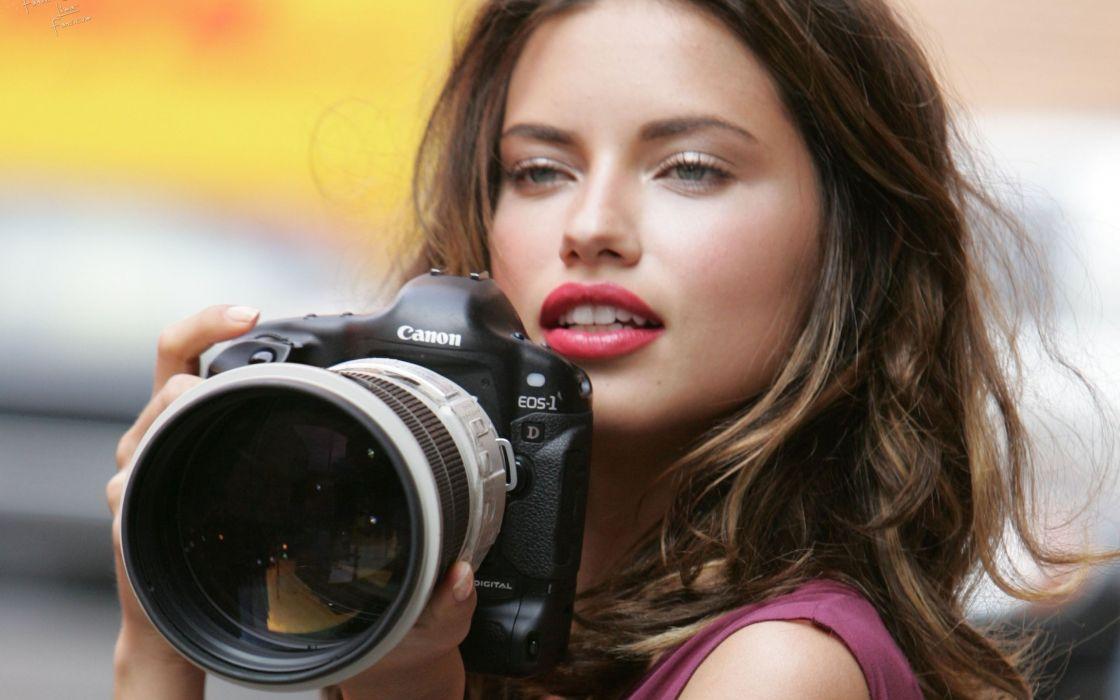Adriana Lima model woman beautiful beauty brunette wallpaper