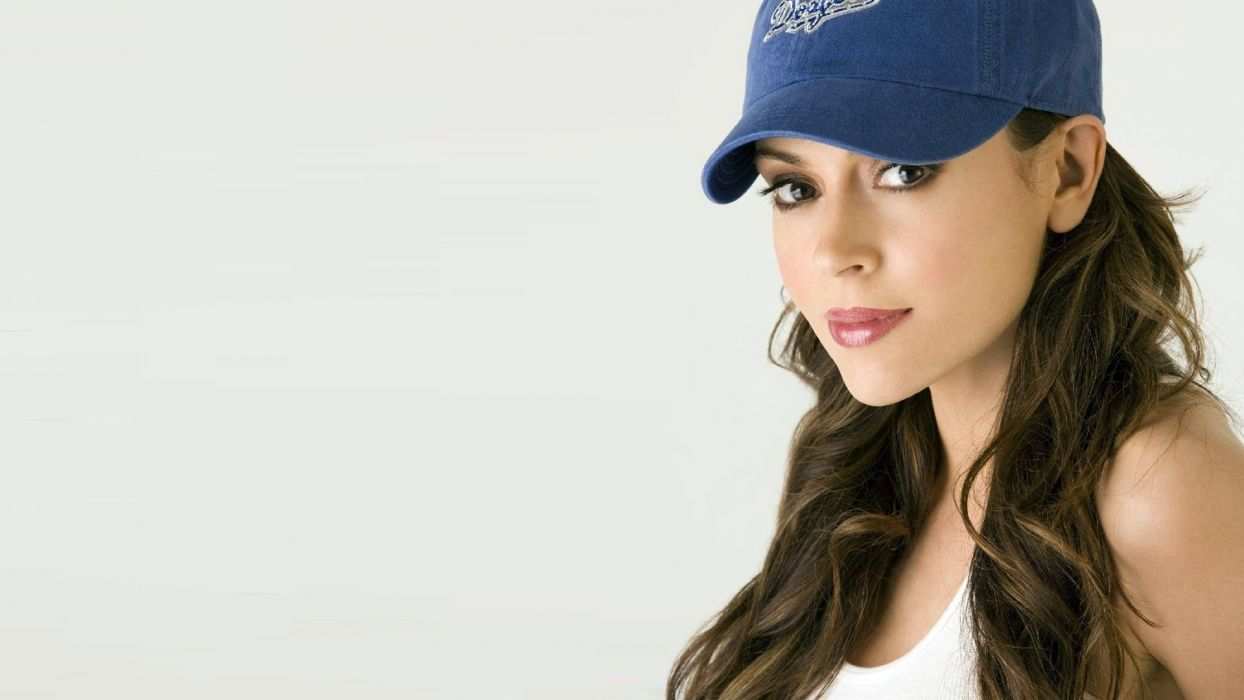 Alyssa Milano actress woman beautiful beauty model brunette wallpaper