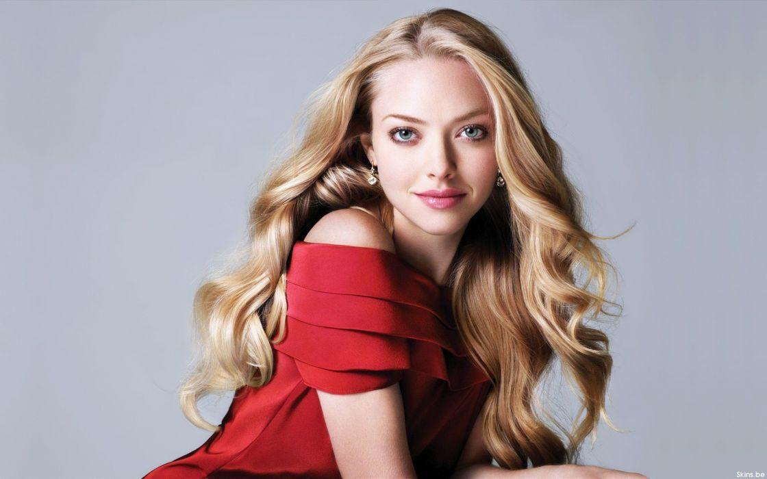 Amanda Seyfried woman beautiful beauty model blonde wallpaper