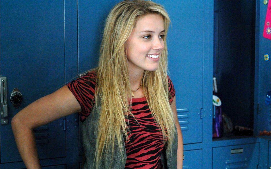 Amber Heard woman beautiful beauty model blonde wallpaper