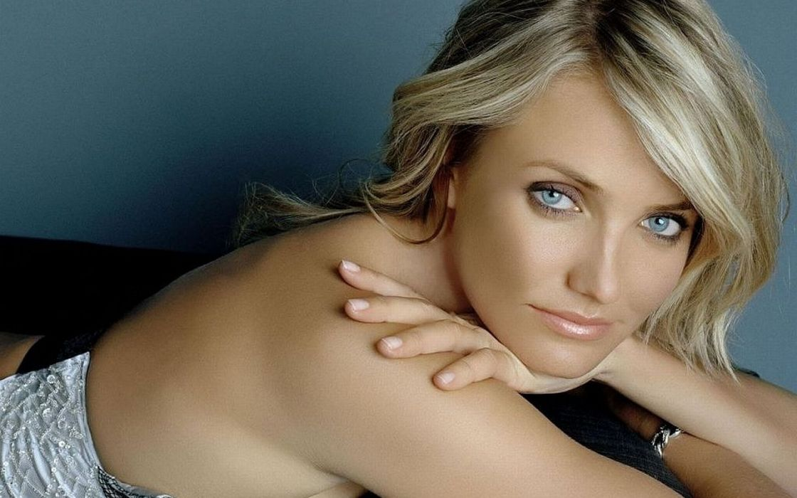 Cameron Diaz actress woman beautiful beauty model blonde wallpaper