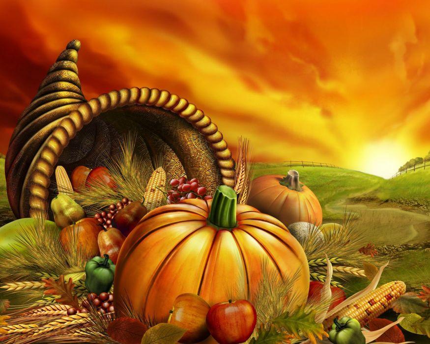 THANKSGIVING holiday autumn turkey wallpaper