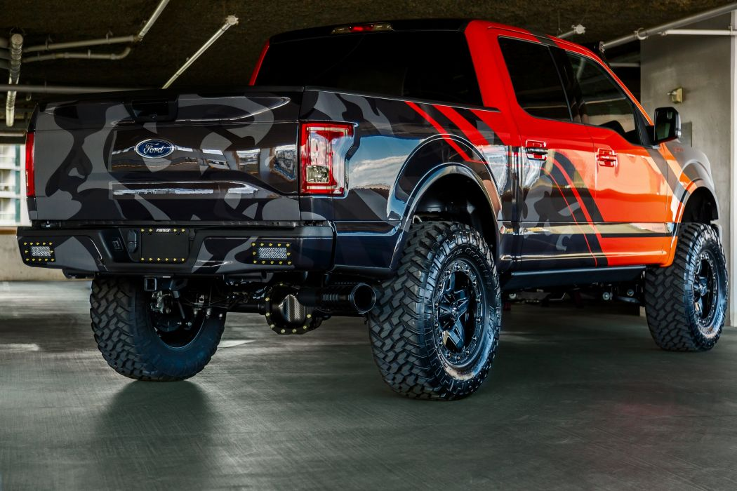 2015 Ford F-150 EcoBoost Fabtech offroad tuning pickup custom wallpaper