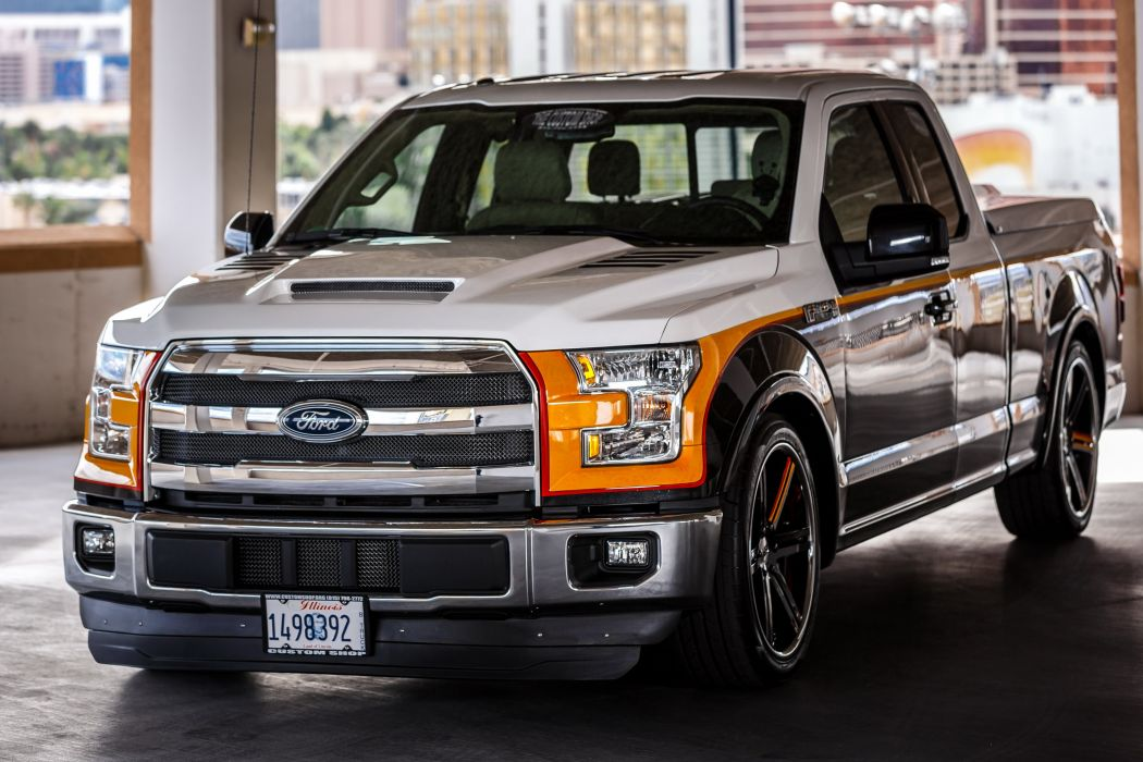 2015 Custom-Shop Ford F-150 Lariat tuning muscle pickup ...