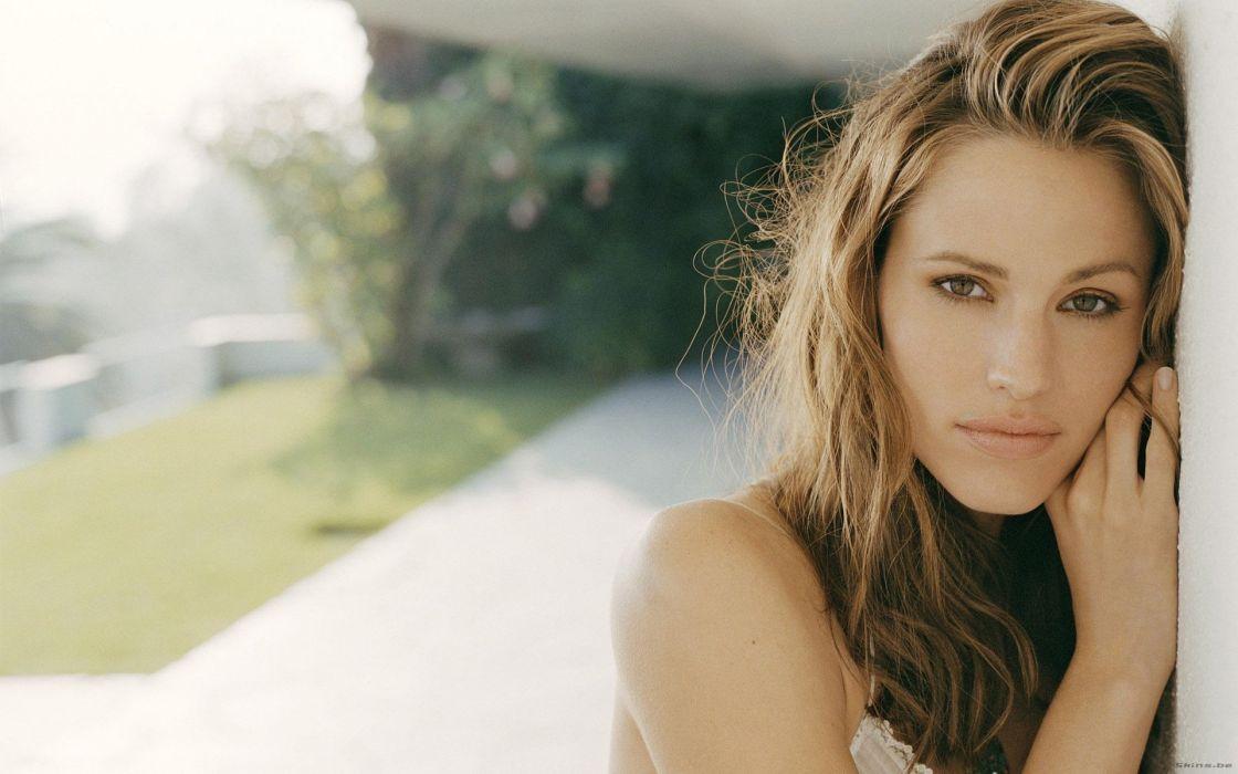 Jennifer Garner actress woman beauty beautiful model brunette wallpaper