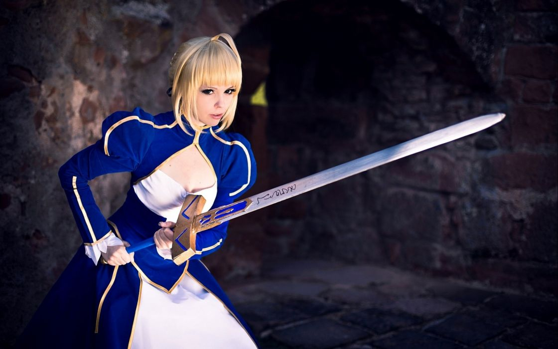 cosplay fantasy outfit beauty beautiful face cute attractive lovely woman female model wallpaper