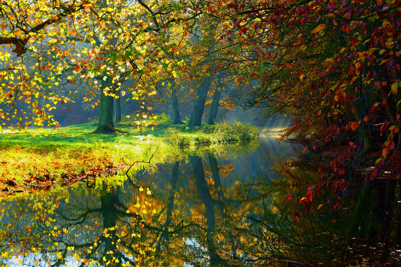 autumn nature river - photo #21