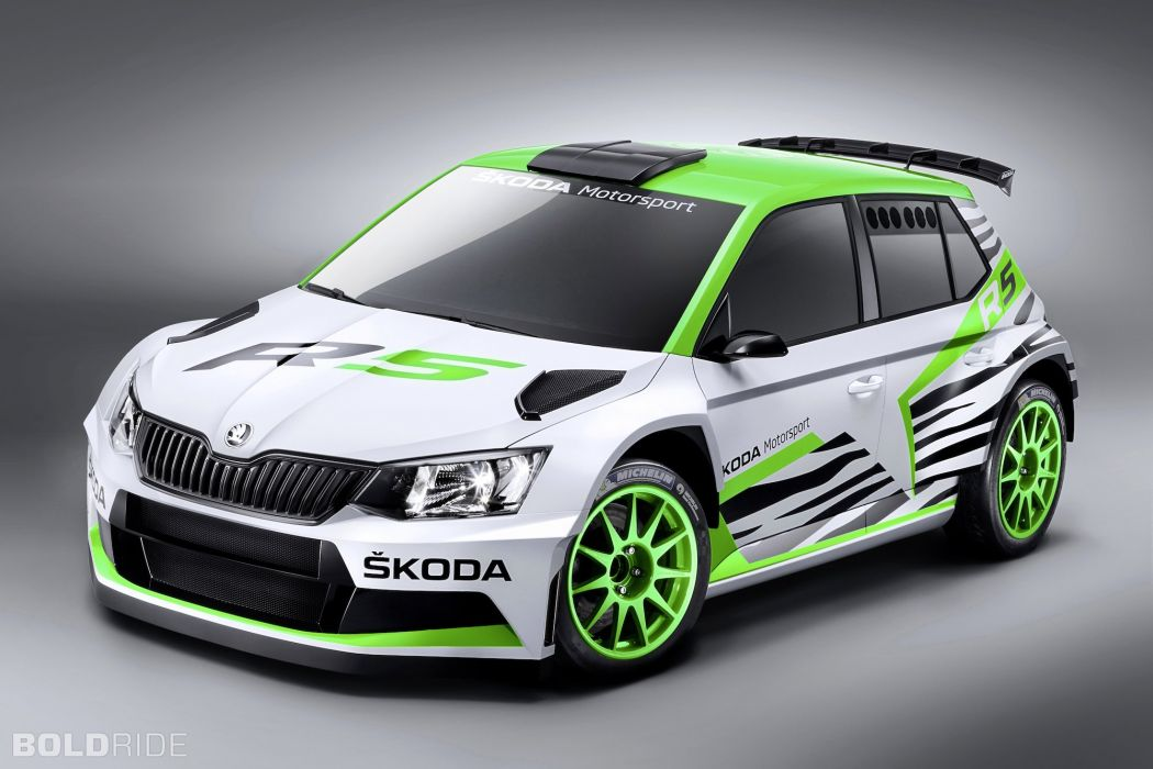 2014 Skoda Fabia R-5 Concept race racing wallpaper