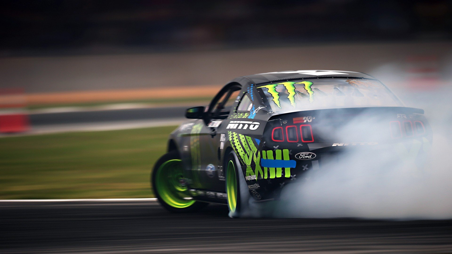 ford mustang rtr monster energy drift race racing. Black Bedroom Furniture Sets. Home Design Ideas