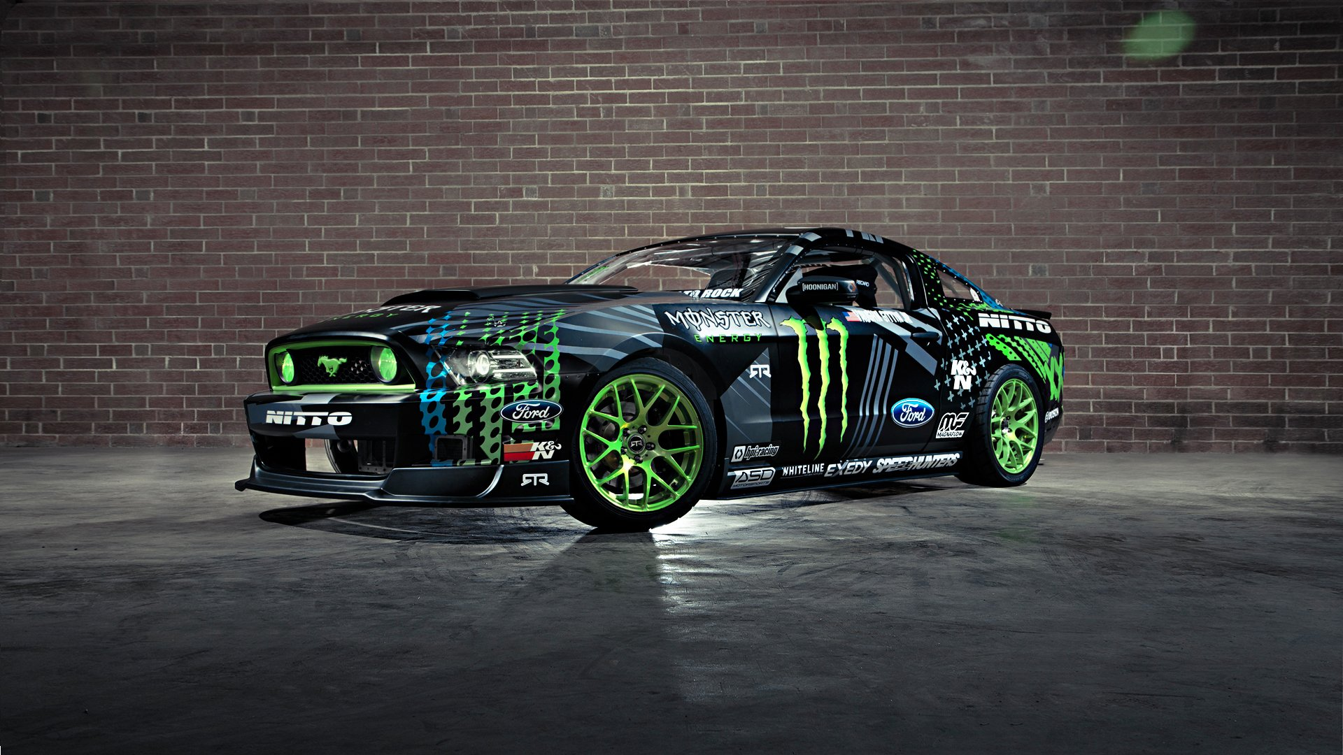 V8 Engine Tattoo Ford Mustang RTR Monst...