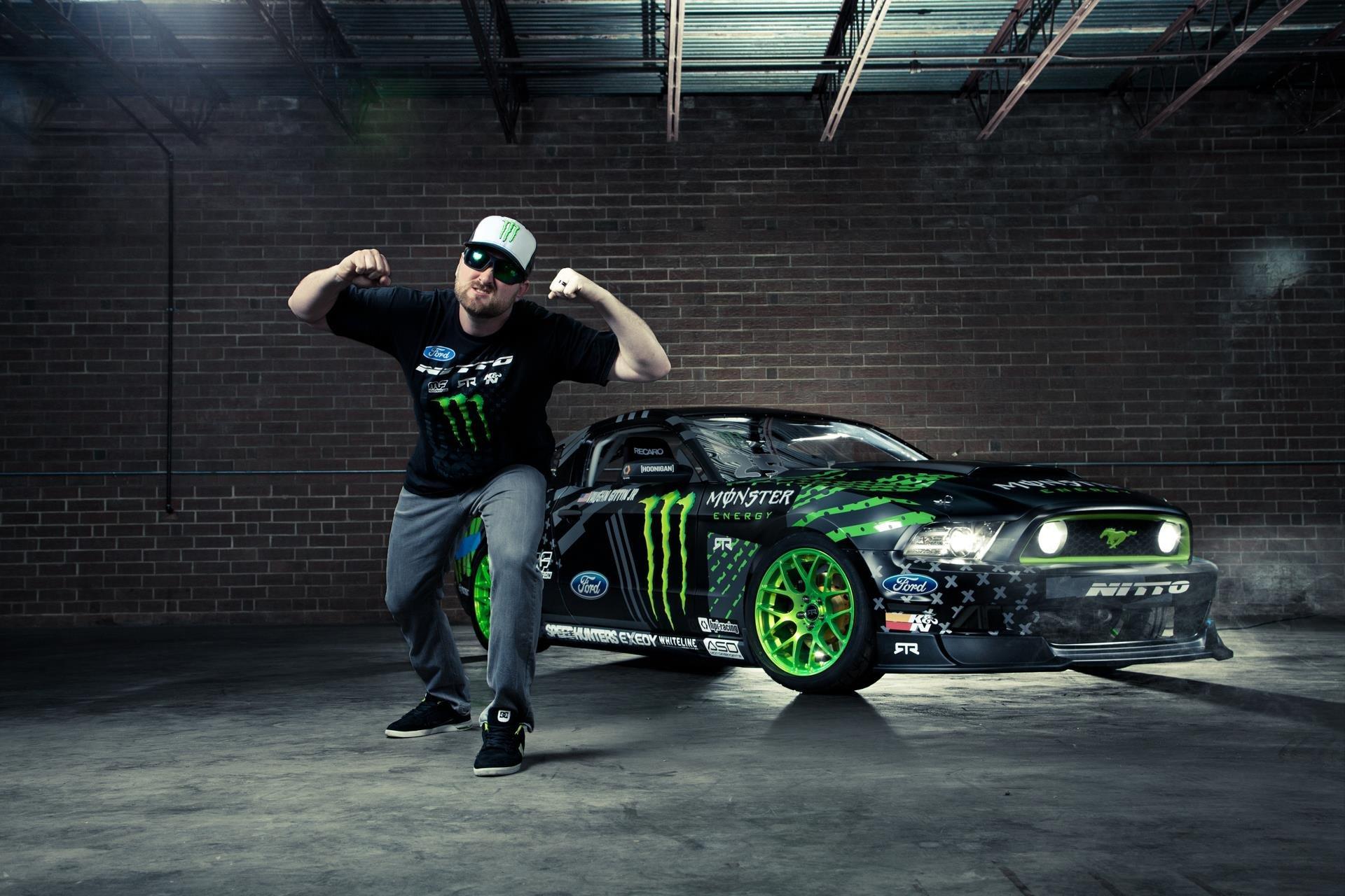 Monster Ford Drift Car
