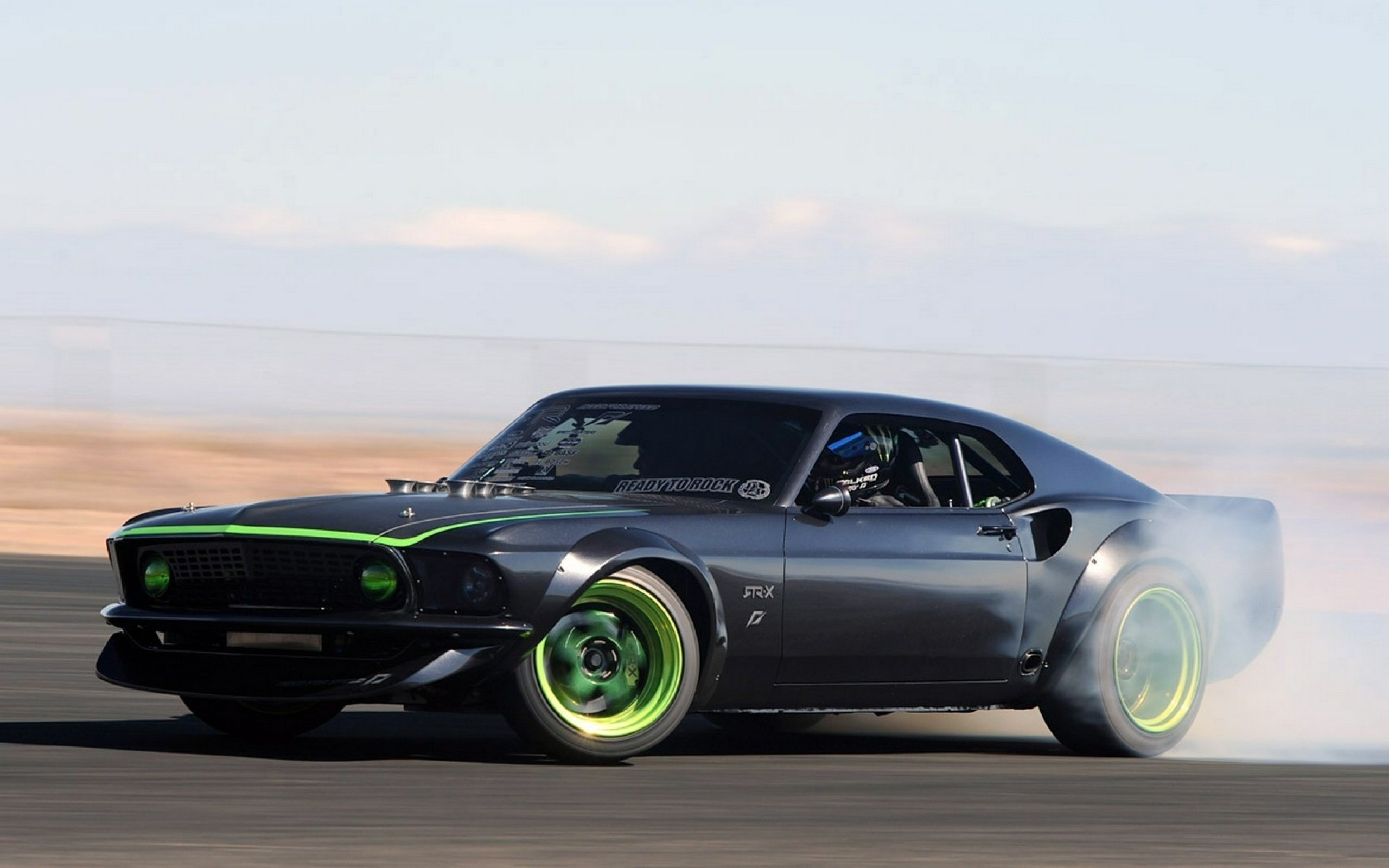 1969 ford mustang rtr x drift race racing hot rod rods muscle classic need speed rtr wallpaper 2560x1600 530037 wallpaperup