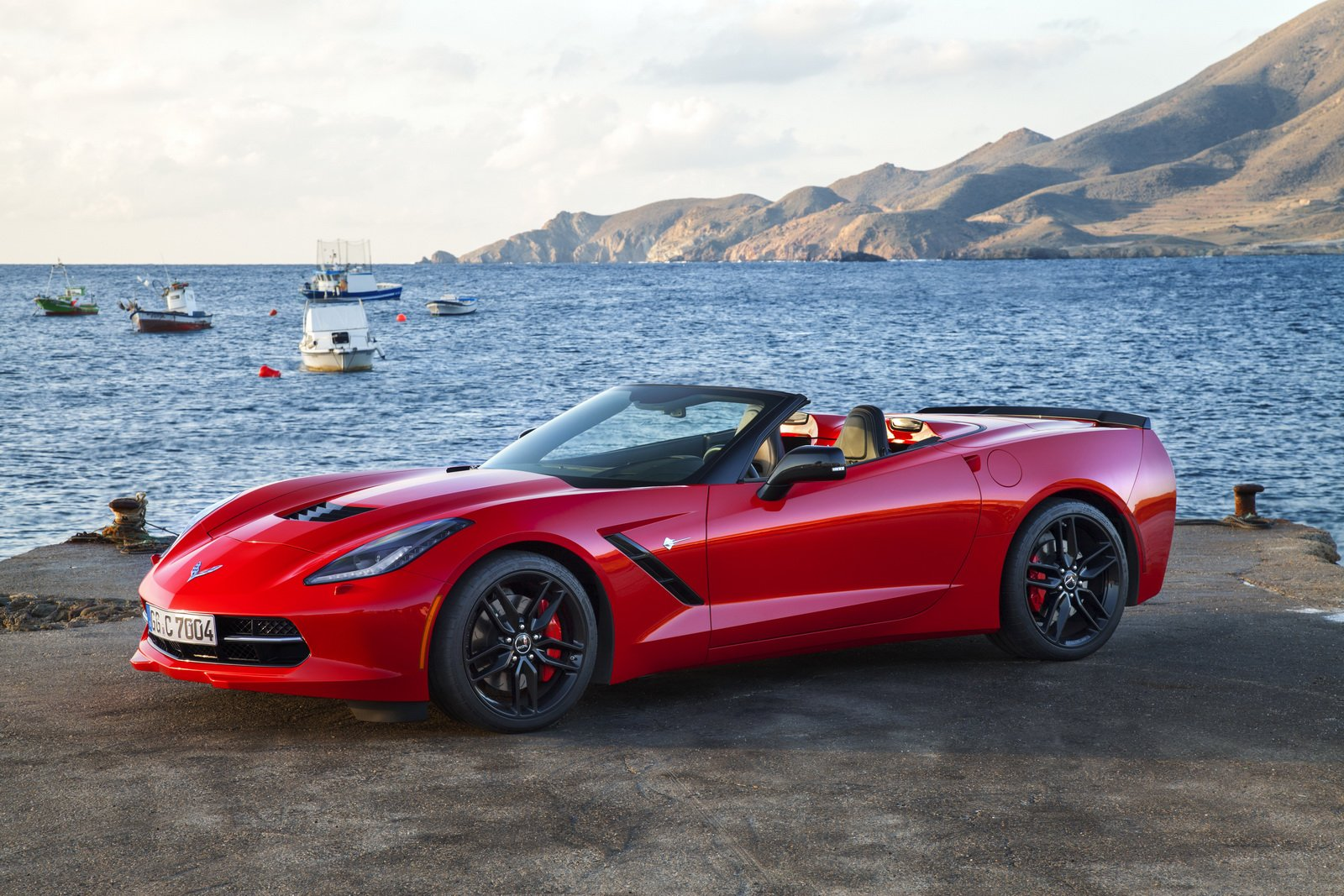 2015 Corvette Colors >> 2015 Chevy chevrolet corvette stingray convertible cabriolet red usa cars wallpaper | 1600x1067 ...