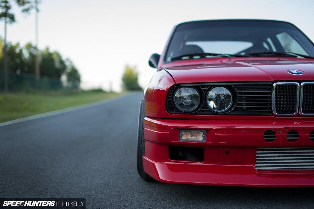 BMW M-3 E30 tuning turbo wallpaper