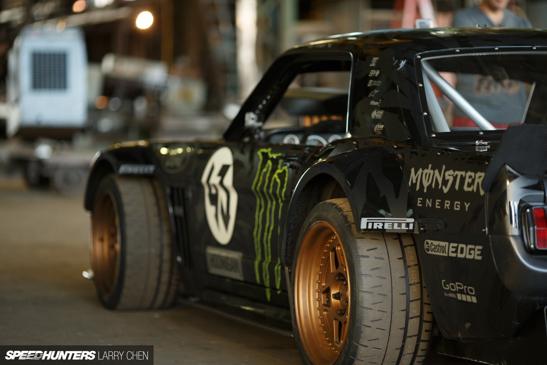 Carbon Fiber Rods >> 1965 Ford Mustang Hoonigan ASD Gymkhana-Seven drift hot ...