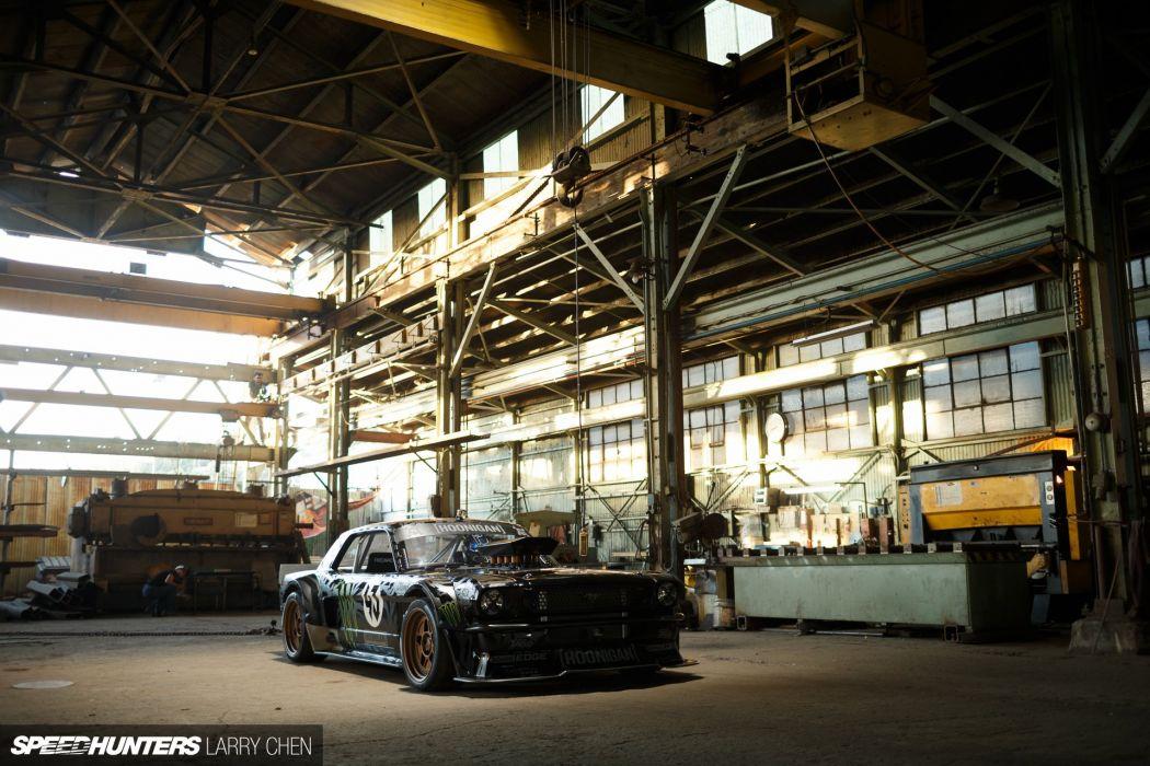 1965 Ford Mustang Hoonigan ASD Gymkhana-Seven drift hot rod rods muscle race racing monster energy Hoonicorn wallpaper