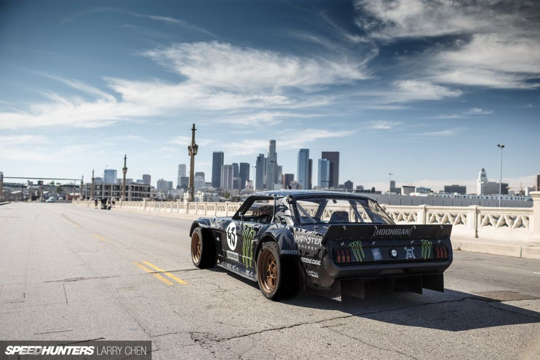 1965 Ford Mustang Hoonigan ASD Gymkhana-Seven drift hot rod rods muscle race racing monster energy Hoonicorn wallpaper