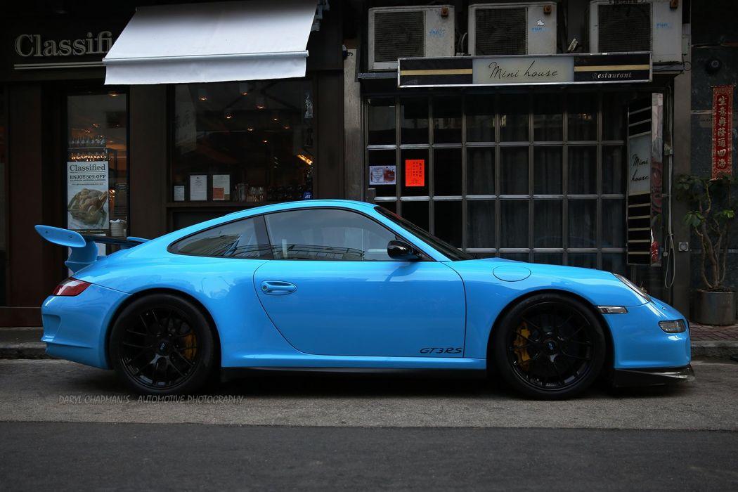 Porsche 911 Porsche 911 Gt3 Gt3 Rs Coupe Cars Germany Blue Bleu Wallpaper 1600x1067 531760 Wallpaperup