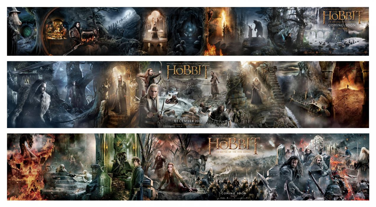 HOBBIT BATTLE-FIVE-ARMIES lotr lord rings fantasy adventure battle armies wallpaper