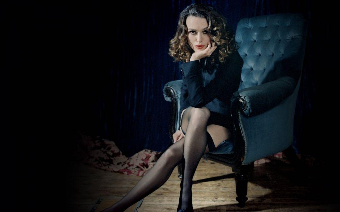 Keira Knightley actress woman beauty beautiful model brunette wallpaper