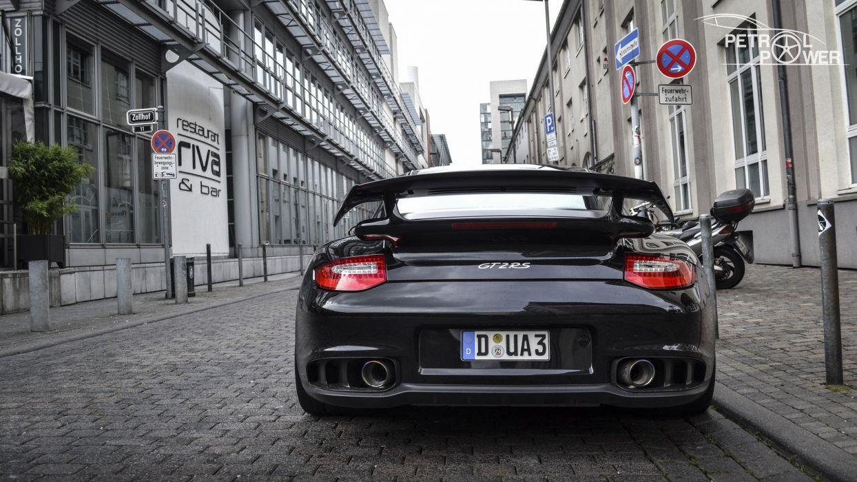 911 Cars Coupe Germany Gt2 Gt2 Rs Porsche Noir Black