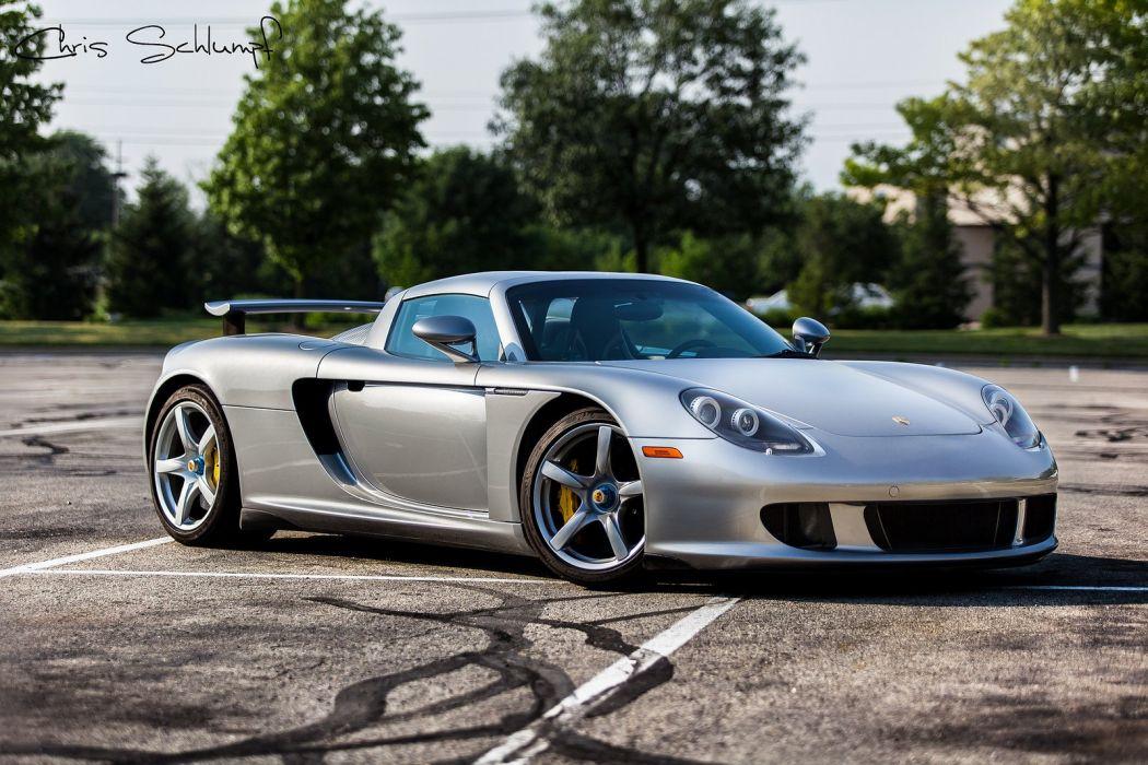 2003 980 carrera g t Porsche Supercar gris gray wallpaper