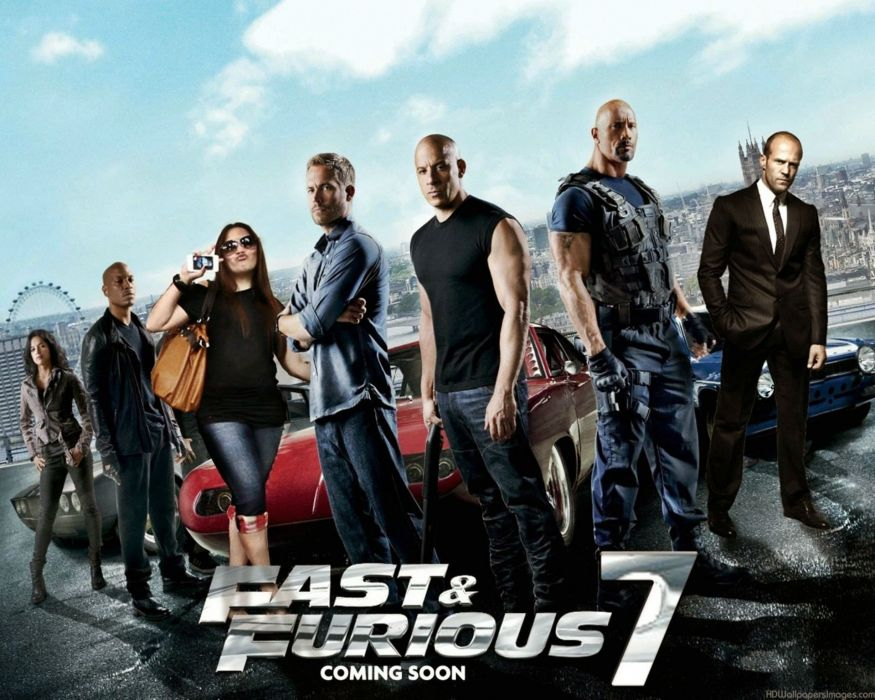 FURIOUS-7 action race racing crime thriller fast furious wallpaper