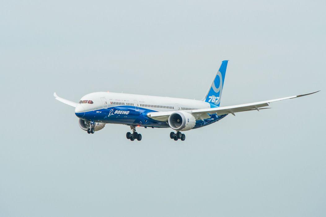 787-9 boeing airliner jet transport airplane 787 dreamliner wallpaper