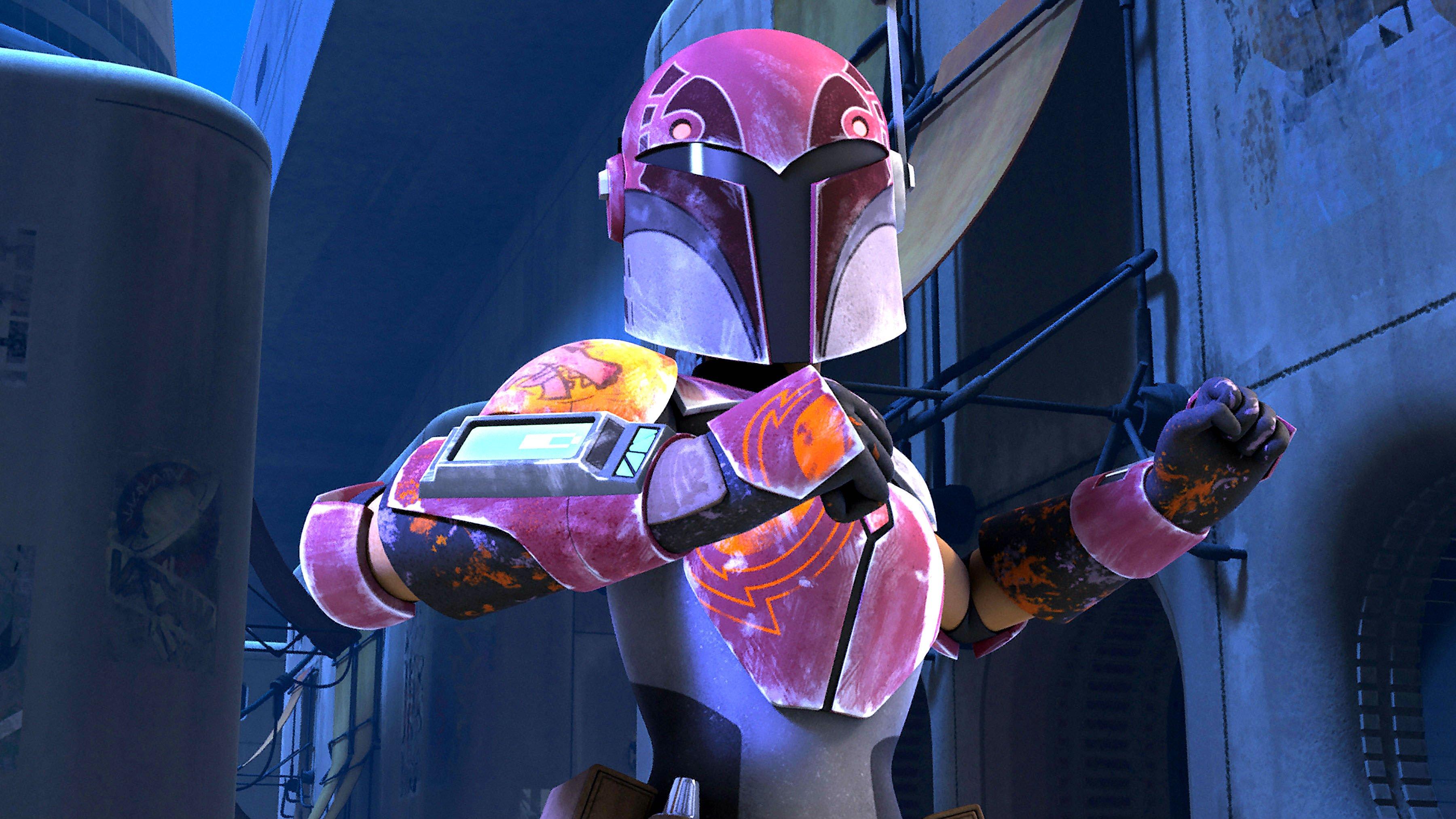 Star Wars Rebels Animated Series Sci Fi Disney Action Adventure
