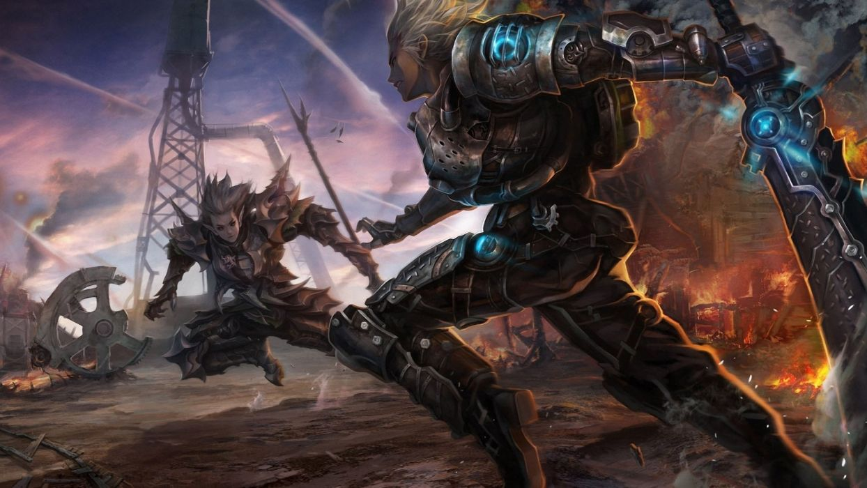 ARGO ONLINE mmo rpg fantasy apocalyptic steampunk sci-fi wallpaper