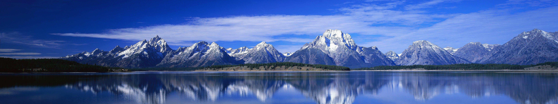 nature wallpaper 5760x1080: Blue Montain Wallpaper