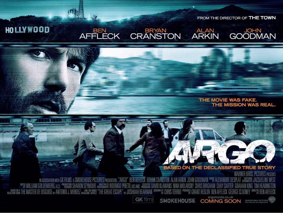 ARGO drama thriller crime cia spy political wallpaper