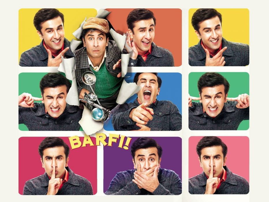 BARFI bollywood romance comedy drama adventure wallpaper