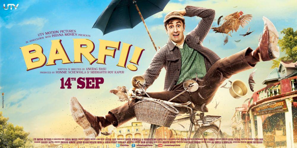 BARFI bollywood romance comedy drama adventure wallpaper
