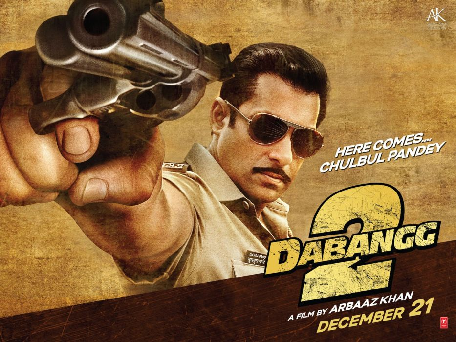 DaBANGG bollywood action comedy crime thriller wallpaper