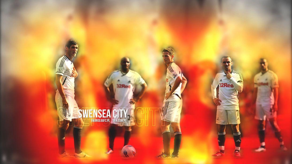 SWANSEA CITY soccer premier wallpaper