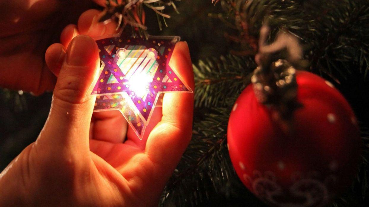 CHRISTMAS holiday jewish wallpaper