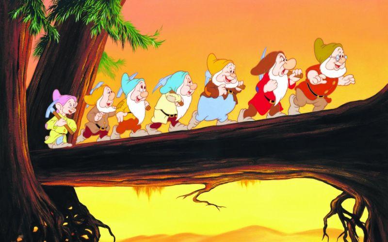Movie Snow White And The Seven Dwarfs Snow White disney cartoon wallpaper