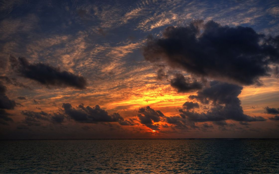 sunset sunrise nature sun sky beautiful wallpaper
